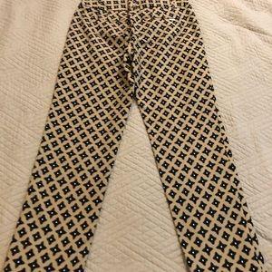 White House Black Market Pants - ⛪️ WHBM ⭐️ NWT Tan and Black Slim, Ankle pants